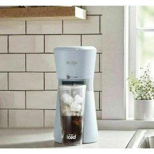 NEW Mr. Coffee Iced Coffee Maker  Reusable Tumbler